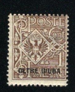 Oltre Giuba #1   Mint  1925  PD