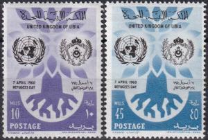Libya #187-8  MNH  (SU7660)