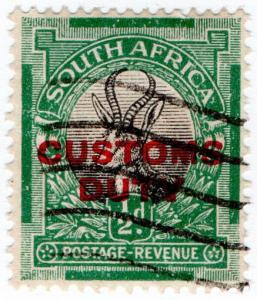 (I.B) South Africa Revenue : Customs Duty ½d