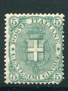 Italy #67  Mint disturbed O.G. Cat $550