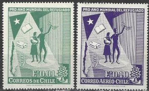 Chile  330, C218   MNH  World Refugee Year