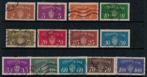 Norway #O9-21  CV $35.75