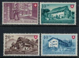 Switzerland #B183-6* NH  CV $7.25