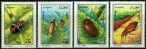 Algeria #1194-97  MNH - Insects (2000)