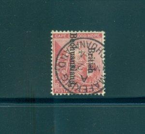 Bechuanaland - Sc# 38. 1893 1p. SON Mafeking Cancel. $3.00.