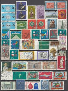 COLLECTION LOT OF #1228 GERMANY 49 STAMPS 1959+ CLEARANCE