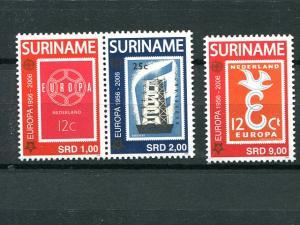 Surinam  Europa  2006   Mint VF NH