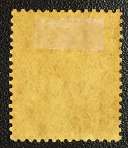 """MALAYA RED CROSS 2c surcharge STRAITS SETTLEMENTS KGV 3c MH """"NO STOP"""" SG#216a"""