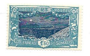 French Somali Coast 1930 - Scott #114