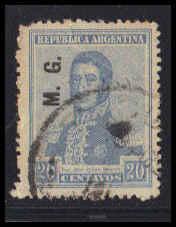 Argentina Used Very Fine ZA6328