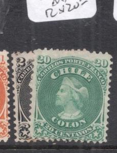 Chile SC 16, 19 MNG (4dnb)
