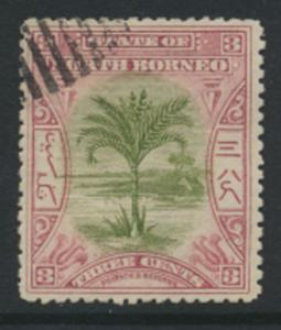 North Borneo  SG 97   Used    perf 14     please see scan & details