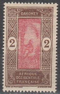 Dahomey #43 F-VF Unused   (S5911)