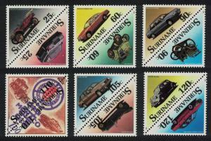 Suriname Motor Cars 12v SG#1408-1419