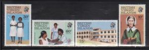 British Virgin Islands 446-9 Nursing Mint NH