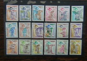 Bermuda 1962 - 1968 set to £1 Fine Used SG163 - SG179