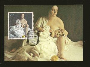 Sweden 1981 Cries & Whispers Swedish Film History Prestamped Postcard