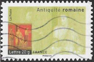 France 3282 Used - Antiquities - Fresco, Pompeii