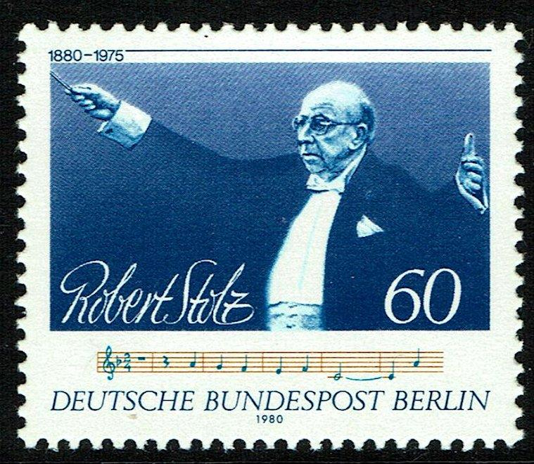Germany Berlin #9N456  MNH - Classical Music Composer/Conductor Stolz (1980)
