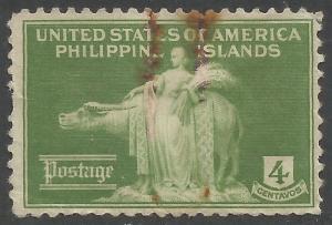 PHILIPPINES 384 VFU X258-4