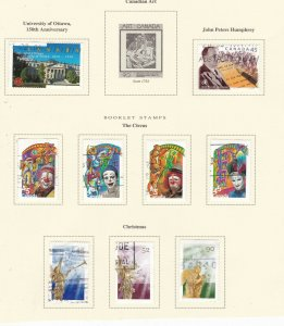 CANADA   ^^^^^1998    used collection on page  @x xdca412xxbca112