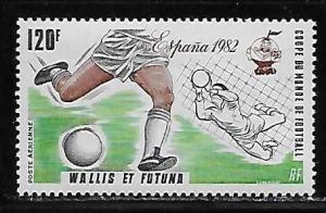 Wallis and Futuna Islands C110 World Cup Soccer single MNH