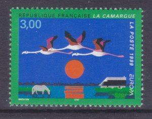 France 2720 MNH 1999 The Camargue Nature Preserve Issue Very Fine
