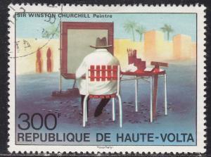 Burkina Faso 350 Sir Winston Churchill 1975