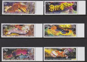 255-60 2003 Sea Slugs MNH