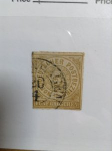 Germany  (North German Conf) SC #6  Used