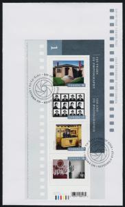 Canada 2626-7 on FDC's 150 years of Photography Series 1