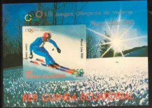 Equatorial Guinea #MiBl291 MNH S/S CV€7.00 Olympics