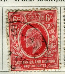 BRITISH KUT; 1907 early Ed VII issue fine used 6c. value