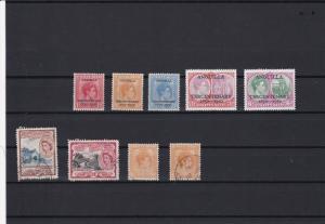 st kitts nevis anguilla overprints stamps   ref r12005