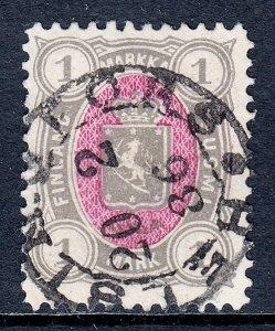 Finland - Scott #35 - Used - 1886 SOTN Helsinki CDS - SCV $20