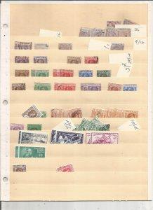 LEEWARD ISLANDS COLLECTION ON STOCK SHEET, MINT/USED