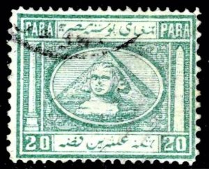Egypt 11 - used- pencil notation