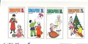 Singapore, 138-41, Chinese New Year Singles, Hinged