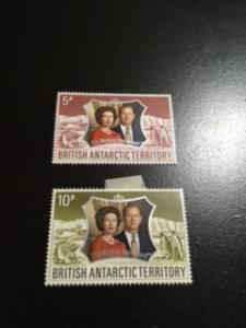 British Antarctic Territory sc 43-44 MHR