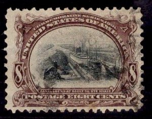 US Stamp #298 8c Pan-American USED SCV $50.00