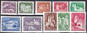 Hungary #1282-91 MNH CV $10.20 (Z6152)