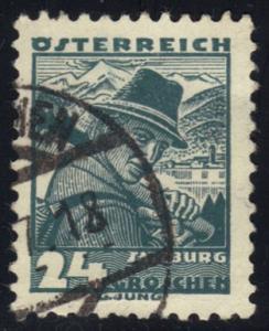 Austria #362 Costumes of Salzburg, used (0.25)