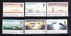 Virgin Islands 395-400 Set MNH Views