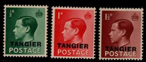 Great Britain, Morocco Scott 511-513 MNH** 1936 overprint set