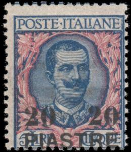 Italy- Offices in Turkey 20D mnh