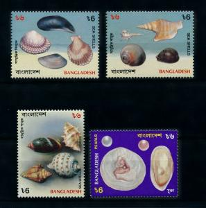 [99600] Bangladesh 1994 Marine Life Sea shells Pearls  MNH