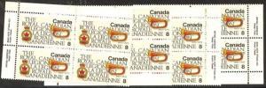 Canada - 1975 Royal Canadian Legion Plate Blocks #680