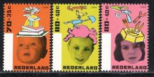 Netherlands Scott # B695 - B697, mint nh