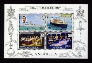 ANGUILLA Queen Elizabeth II 1977 The Silver Jubilee Mini-Sheet SG MS273 MNH