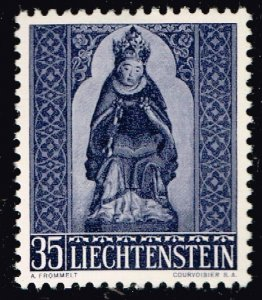 Liechtenstein Stamp 1958 Christmas MH/OG STAMP 35 RP